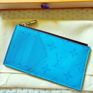 NWTS Louis Vuitton Taigarama Coin Card Collector